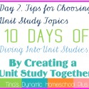 1391627965.36 Day 9. Flow of Our Day with A Unit Study Schedule. 10 Days of Diving Into Unit Studies by Creating a Unit Study Together.