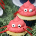 Whimsical Crab Cupcakes