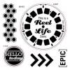 Reel Life Stamp Set