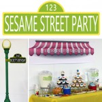 Entertaining with style a sesame street second birthday party sesame street second birthday party aloadofball Images