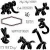 Balloon Animals Stamp Set