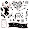 Woodland Romance Stamp Set